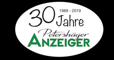 30 Jahre Petershäger Anzeiger – Ein Rückblick