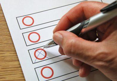 Wahlbenachrichtigungen werden zugestellt