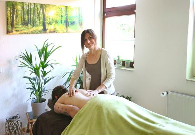 Entspannung vom Alltag bei einer Massage – Anzeige –