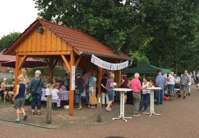Straßenflohmarkt der Osterhoper Hüttengemeinschaft