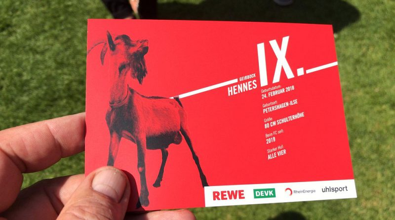 Stabübergabe In Köln Hennes Ix Jetzt Im Dienst