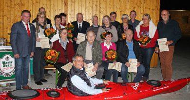 Kanu-Klub Petershagen feiert 70-jähriges Jubiläum