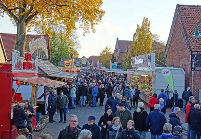 Wiedensahl im Marktfieber – Traditioneller Martinimarkt am 14. November