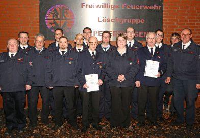 Löschgruppe Petershagen erwartet neues Tanklöschfahrzeuges