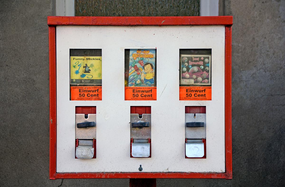 Ring kaugummiautomat