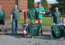 Familie Christoffer erfreute für die Bocciasparte des TuS Döhren