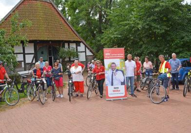 SPD Petershagen on Tour im Wesergebiet