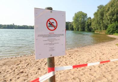 Erneut Badeverbot im Badesee Lahde wegen Blaualgenbefalls