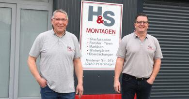 """""""Glas ist unser Element"""" – 25 Jahre H&S Montagen in Petershagen"""