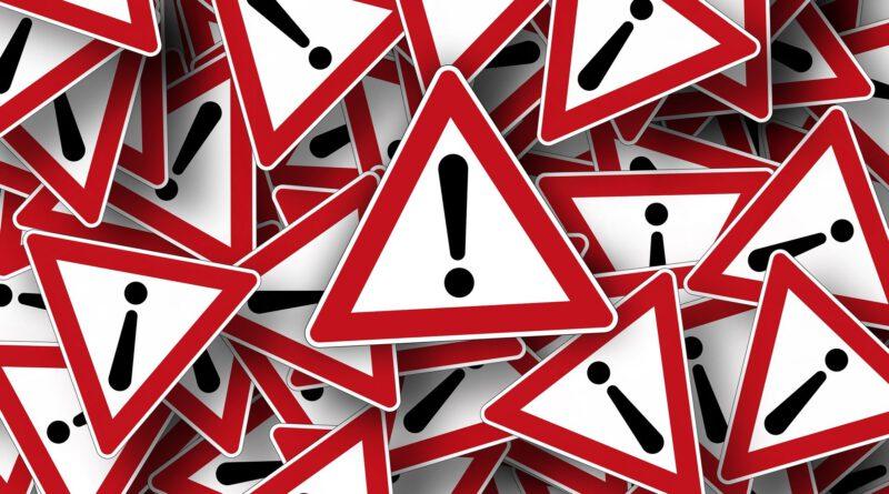 Warnung vor Personen, die Wasserhausanschlüsse prüfen wollen