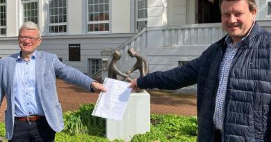 Offizieller und organisatorischer Schritt erfolgt: Rüdiger Kaltofen ist Bürgermeisterkandidat