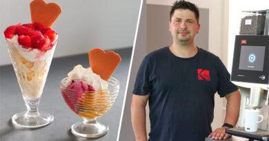 """""""Ich möchte Menschen glücklich machen"""" – Willi Hage eröffnet  neues Eiscafé in Lahde"""