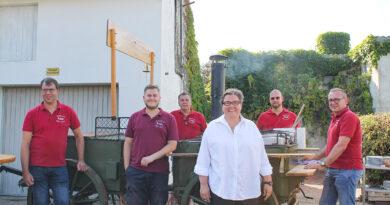 Feldküche der Bürgerkompanie Oberdorf eingeweiht