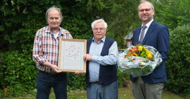 Heinz-Joachim Lampe: 50 Jahre Meistertitel im Elektro-Handwerk