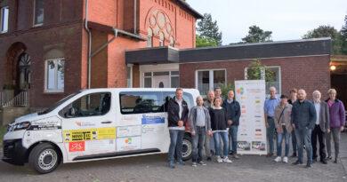 Die Chorschule der Christuskirche Todtenhausen sagt offiziell Dankeschön